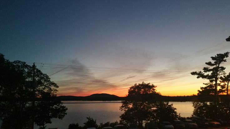 Sensational Sunset View of Lac Brome