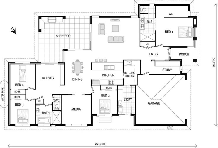 The McKeachie, Our Designs, ACT Builder, GJ Gardner Homes ACT