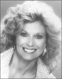 Mary Frann played Joanna Loudon for 8 seasons on the hit sitcom Newhart.  She won the America's Junior Miss pageant in 1961.  Ms. Frann died in her sleep at the age of 55.