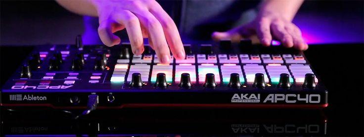 Performance AKAI APC40 MK2 por Carl Rag - DJLogic