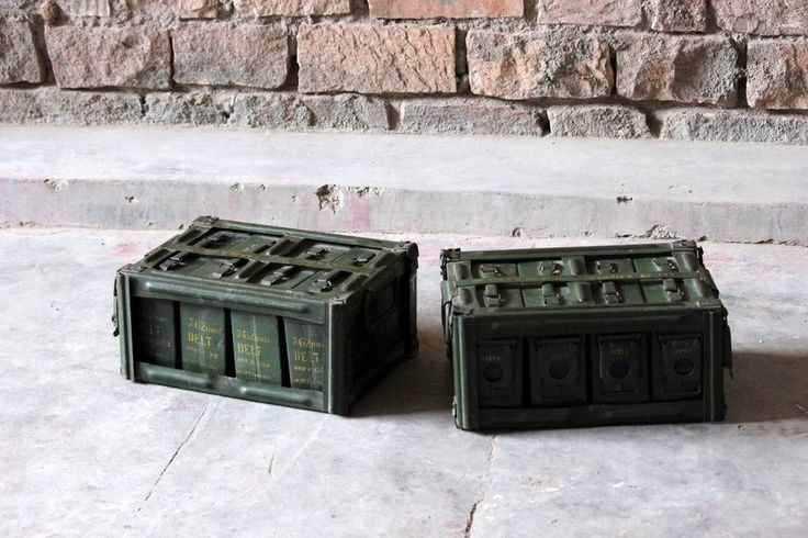 Kali 'Vintage' Military Ammunition Boxes