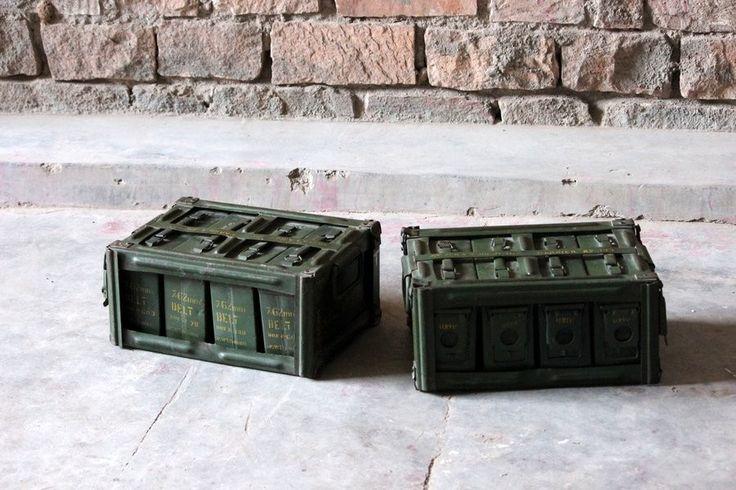 Kali 'Vintage' Military Ammunition Boxes