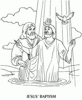 25 Best Ideas About Jesus Baptism Craft On Pinterest