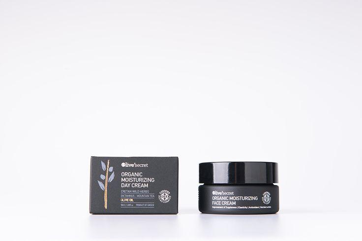 Organic moisturizing face cream
