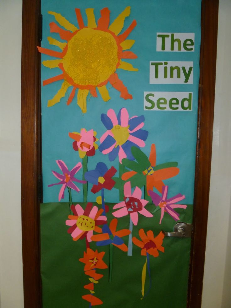 Reading Classroom Door Decorations ~ Images about the tiny seed by eric carle on pinterest