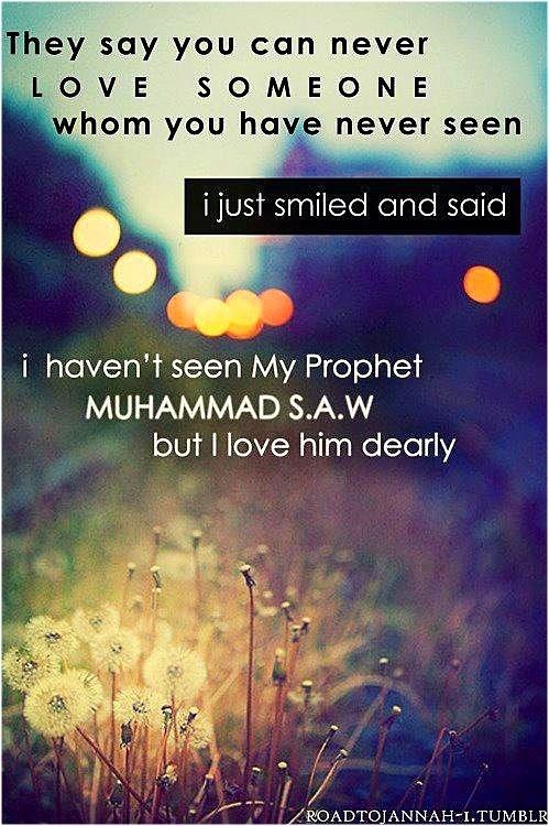 The dear ♥Prophet Muhammad Sallahu Alayhi Wasalaam