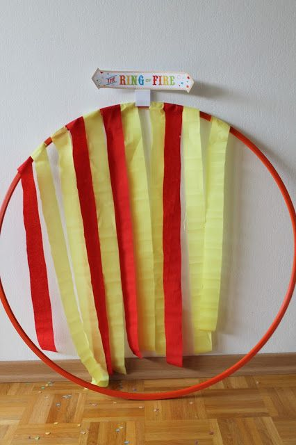 Birthday party: party games, circus food and decoration ideas for 2-year-olds to the circus party.