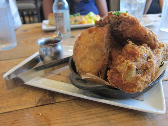 Fried Yardbird Recipe — Dishmaps