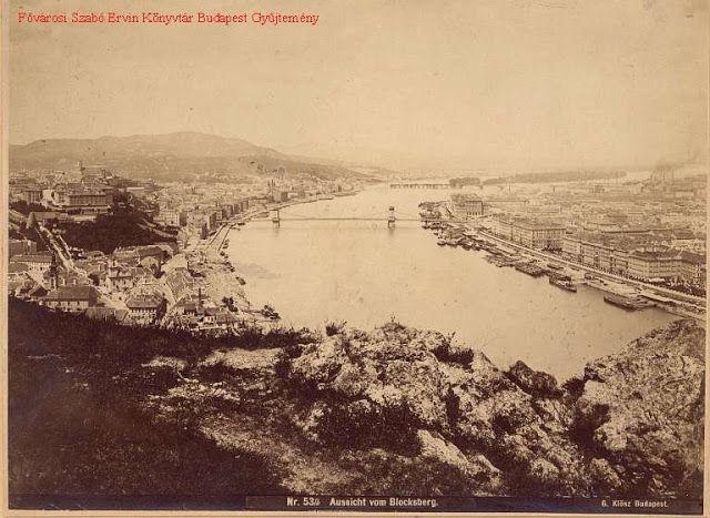 Budapest 1875 körül. Klösz György felvétele