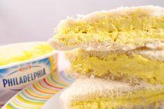 Rellenos para sandwiches estilo Rodilla: Crema de queso con bacon y cebolla, pavo con manzana y pollo al curry.
