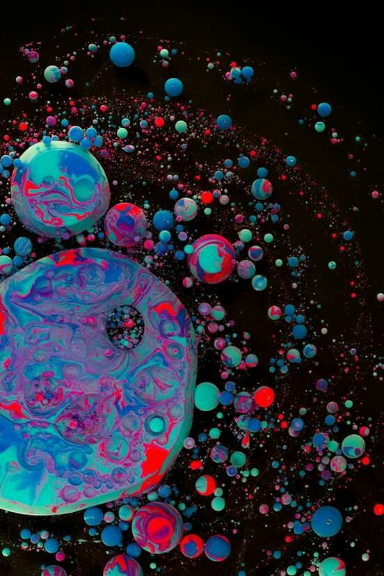 experimental photography by Davy Evans  more at synapticstimuli.com/Desire-to-taste-the-deep  #abstract #chemical #colorful #fluid #macro #movement #organic #pop #photography