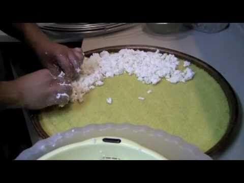 making kanafe