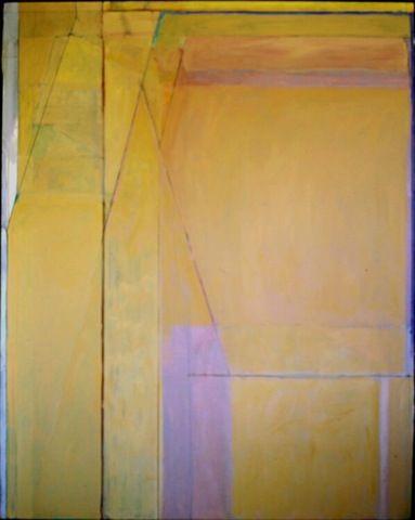 Richard Diebenkorn - Ocean Park 44 (1971), oil on cotton duck. [MW77], Missing work