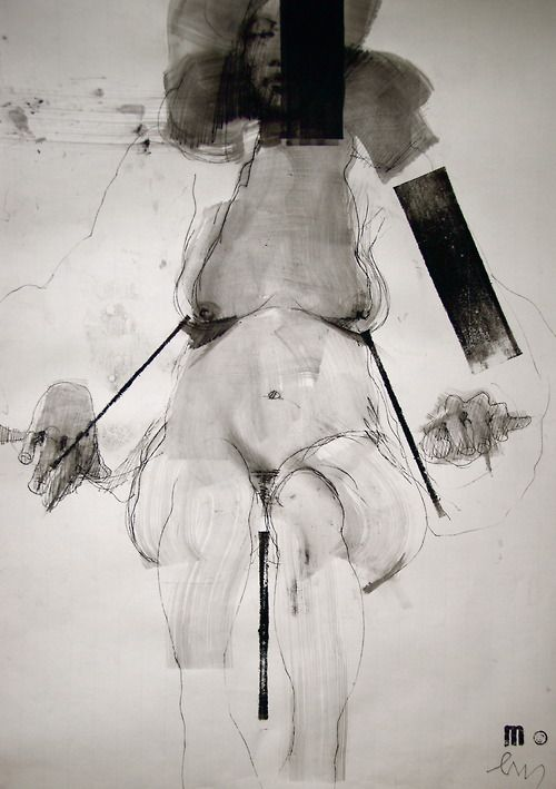 mlmlmlml:  NUDE No. 3024 (100 x 70cm), MARCH 2013
