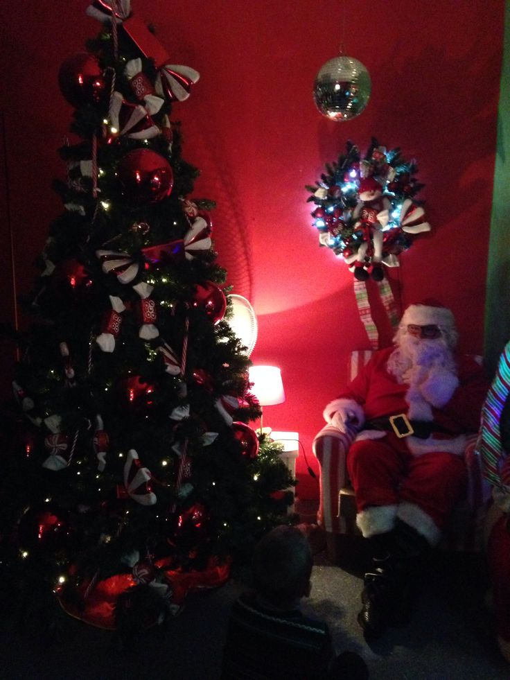 Santa's Grotto at Cadbury Garden Centre
