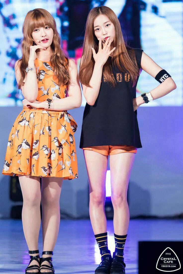 CLC Seunghee & Yujin