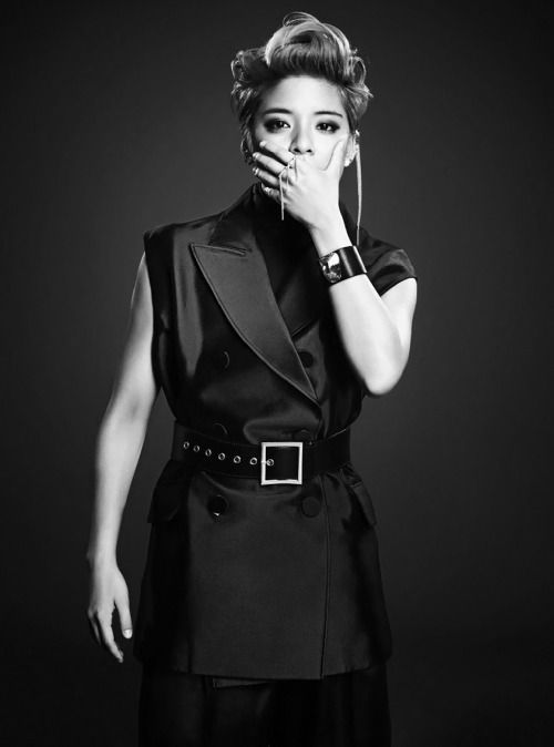 F(x) Amber (High Cut Korea Magazine Vol.129)