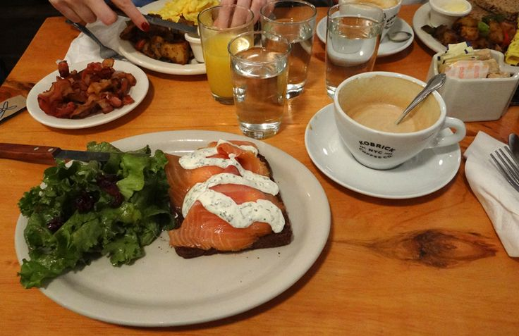 Sugestões de restaurantes bacanas em Nova York: Pearl & Ash, ABC Cocina, Penelope. The Standard Grill e Sant Ambroeus