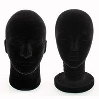 Material: Foam head  Package include:1 X Foam Mannequin  Color: such as physical figure color! Item