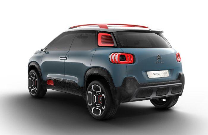 Citroën C-Aircross Concept : la version SUV de la C3