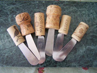 wine corks=cool idea