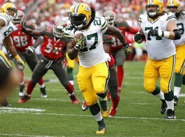 In only two seasons in the NFL, running back Eddie Lacy has started compiling milestones for the Green Bay Packers. This season, the former Alabama star could become the fourth Green Bay running back with at least three consecutive seasons of 1,000 rushing yards, joining Jim Taylor (who did it every season from 1960 through 1964), John Brockington (1971-1973) and Ahman Green (2000-2004).
