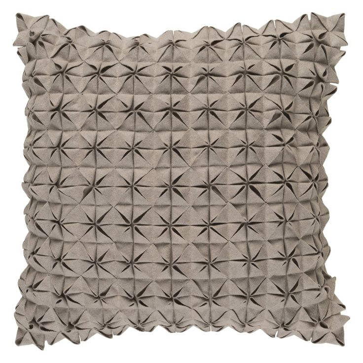 Surya Structure Decorative Throw Pillow Down Charcoal