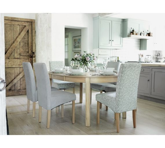Buy Collection Massey Wood Effect Extendable Oval Dining Table At Argos Couk