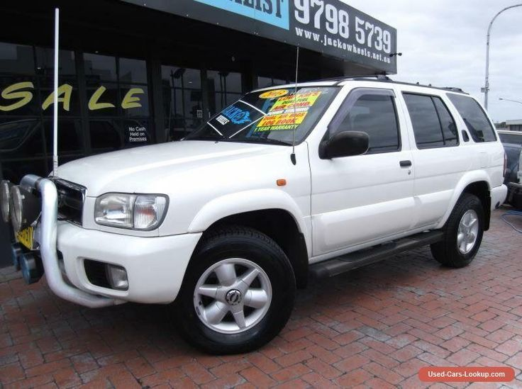 2004 Nissan Pathfinder MY03 TI (4x4) White Automatic 4sp A Wagon #nissan #pathfinder #forsale #australia