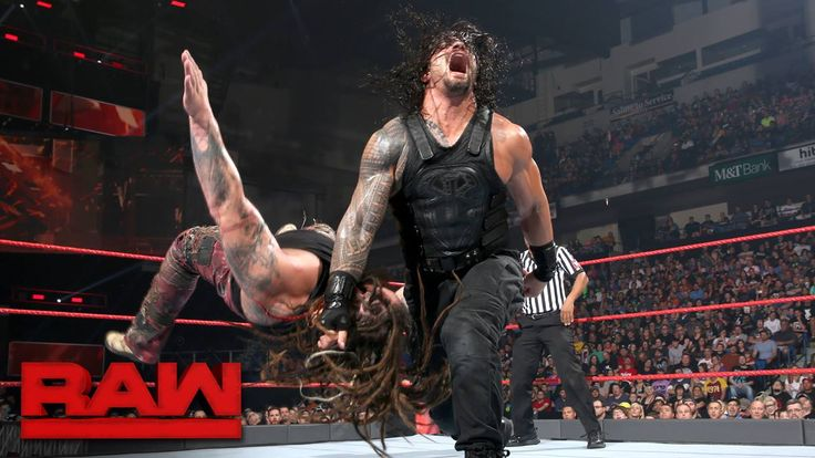 Still reeling from the effects of the Extreme Rules Fatal 5-Way Match, Roman Reigns and Bray Wyatt look to PUNISH one another on WWE Raw!