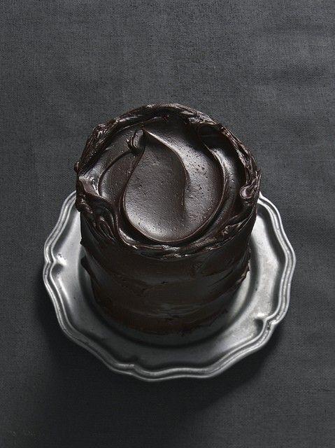 Chocolate Ganache #cake