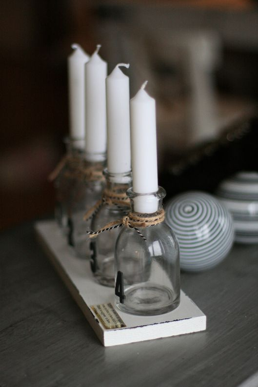 advents stake - Beautiful Nordic Christmas interior from the beate hemsborg blog as seen on the Oaxacaborn blog