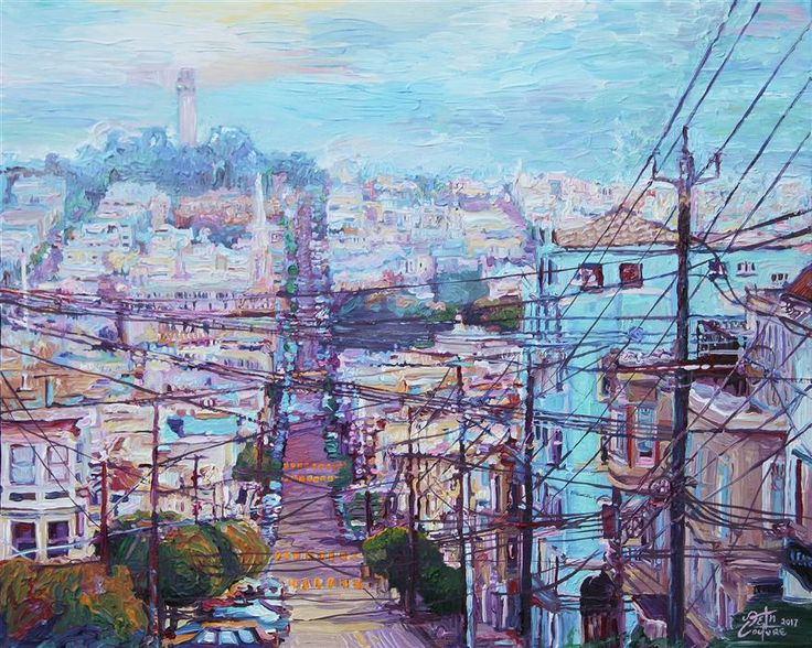 12 best cityscape artwork by seth couture images on for Buy art san francisco