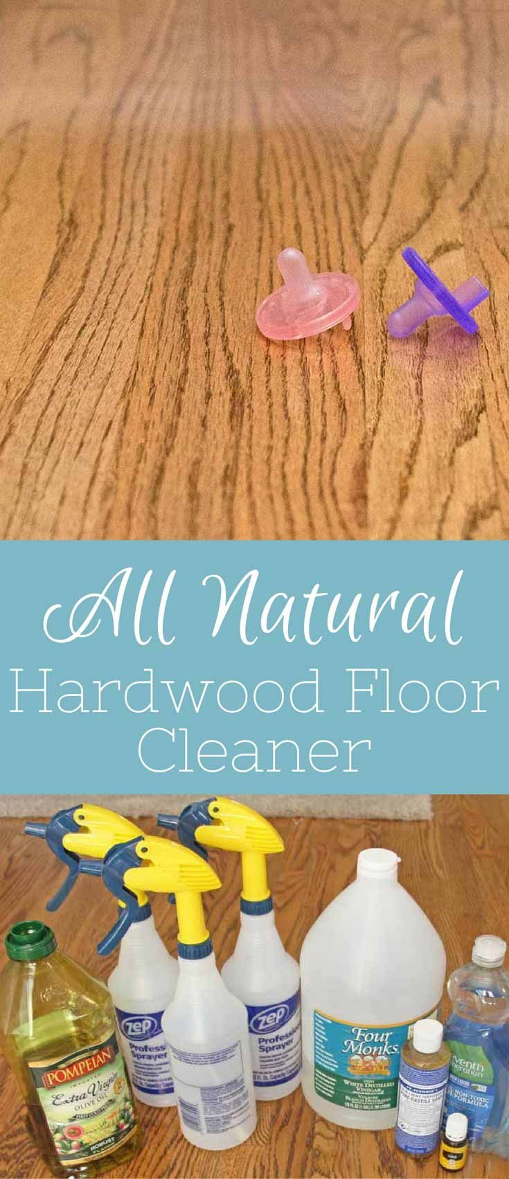These 3 All Natural Homemade Hardwood Floor Cleaners will tackle all your cleaning needs. Each recipe is safe and non toxic for the little ones. via @foodfunkids