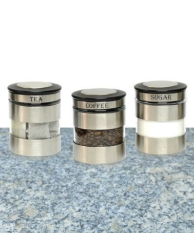20 best Stainless Steel Canister Sets images on Pinterest
