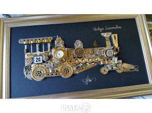 Mobilier, decoratiuni, Mobilier, decoratiuni, ♥ Locomotiva de epoca ♥, imaginea 1 din 5