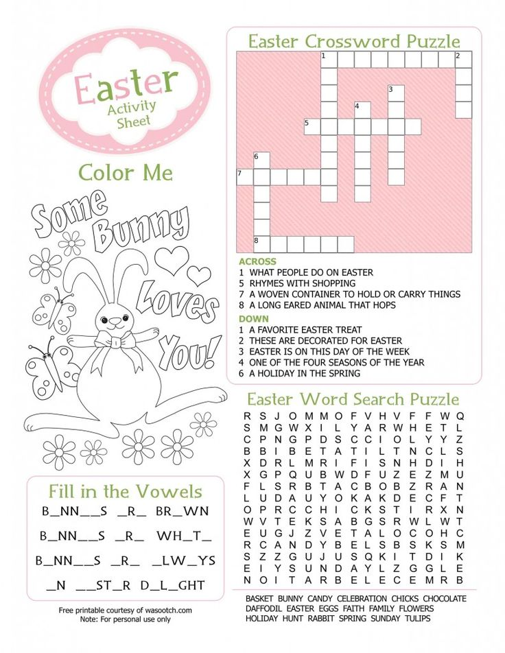 Loads Of Free Easter Printables Coloring And Puzzle Activity Sheets For Kids Stickers