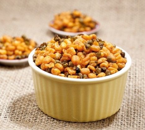 Roasted diet snacks have low fat, calorie content and high protein and fibre content. BrownTree Moong Masala is a delicious and healthy snac...