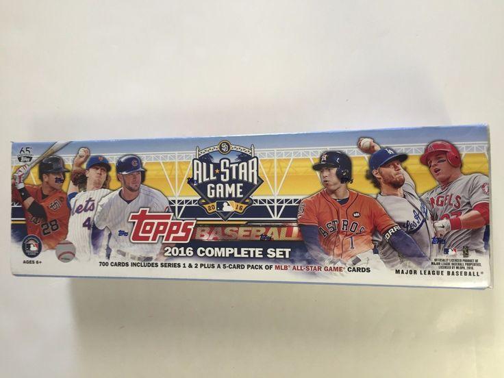 Baseball Cards 213: 2016 Topps All-Star Baseball Factory Set -> BUY IT NOW ONLY: $49.95 on eBay!