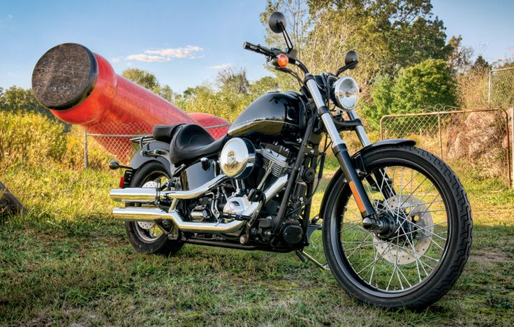 Long. Low. No BS. This custom classic is a minimalist throwback icon for today's freedom seekers. | 2011 Harley-Davidson Blackline