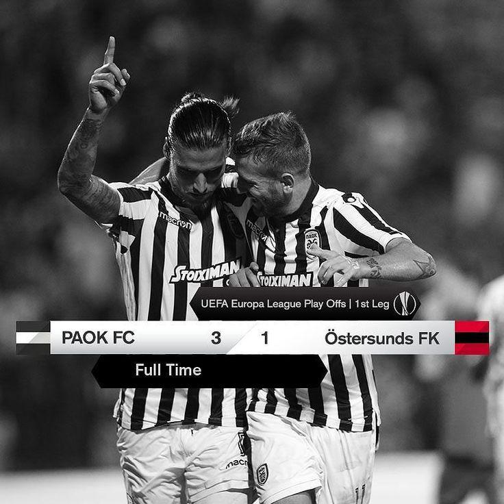 #PAOKOFK 3-1 #UEL #DareToDream