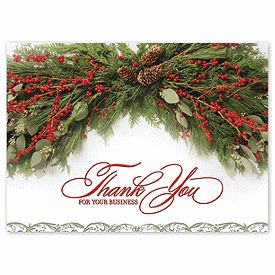 16 best thank you for your business cards images on pinterest thank you swag holiday card business thank you cards deluxe reheart Image collections