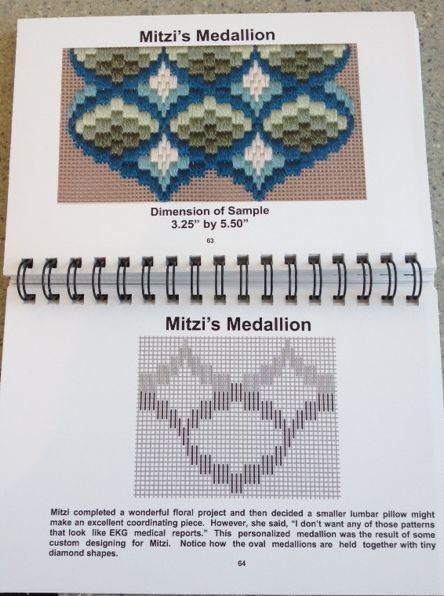 From June McKnight's Bargello Book--excellent choice!