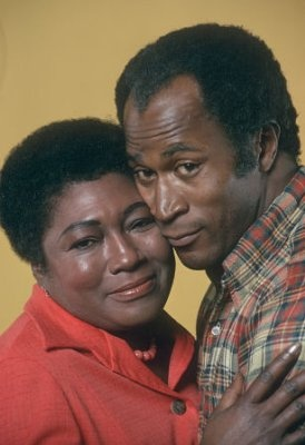 Esther Rolle and John Amos from Good Times #70s