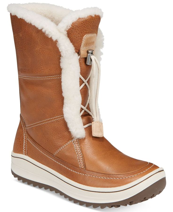 Ecco Women's Trace Tie Cold Weather Boots