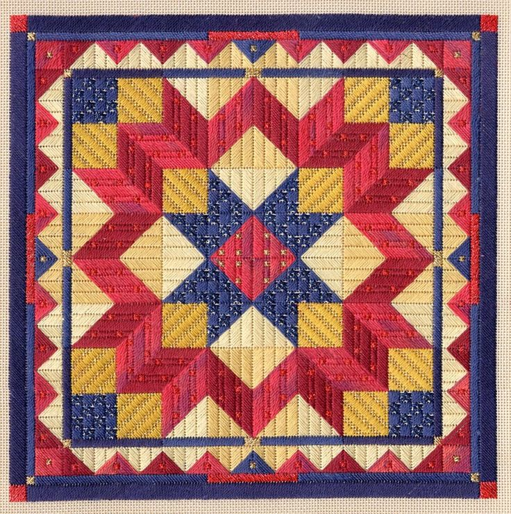 43 best Canvas images on Pinterest | Needlework, Bargello ... : traditional american quilts - Adamdwight.com