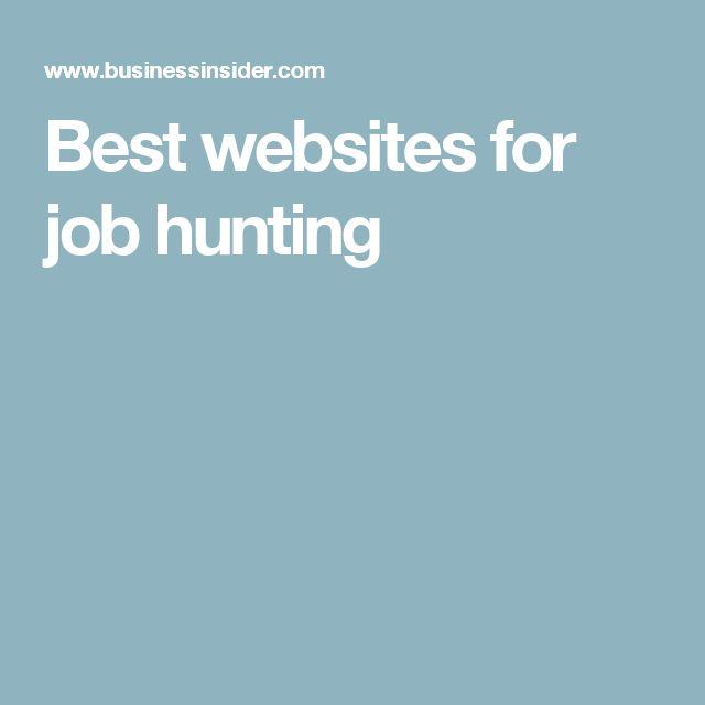 job hunter websites