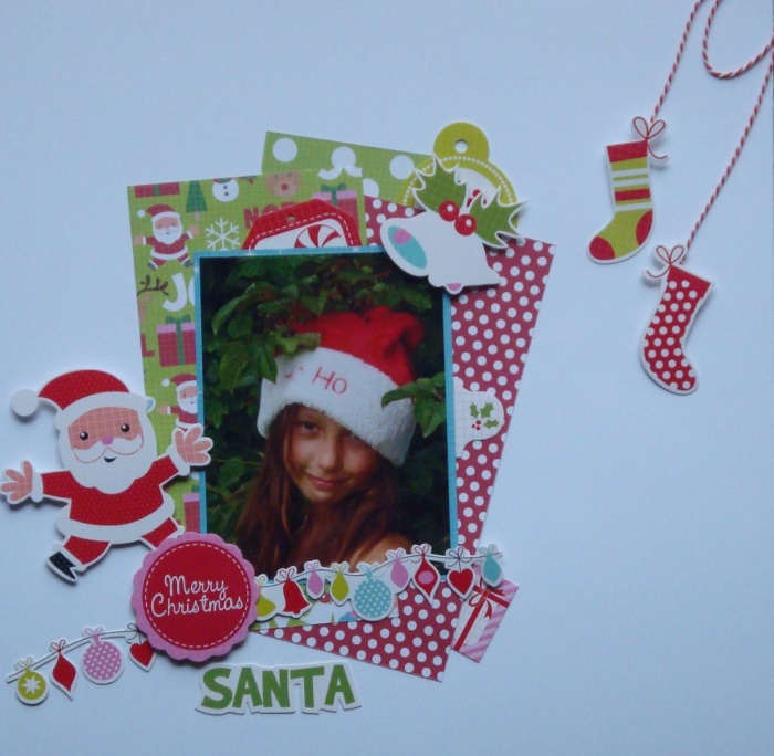 Santa  Mint Twist collectie Kaisercraft