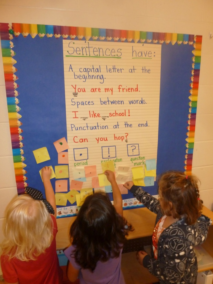 Literacy and Laughter - Celebrating Kindergarten children and the books they love: Punctuation Hunt
