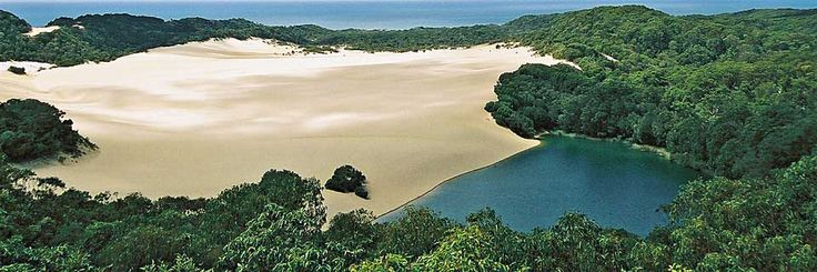 Frazer Island lagoons, Australia